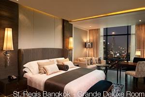 St. Regis Bangkok, Grande Deluxe Room