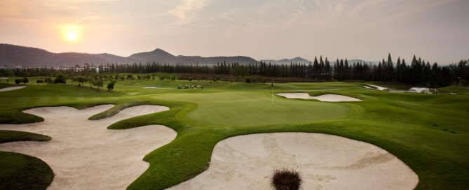 Best golf course in Thailand, Black Mountain Golf Club, Hua Hin
