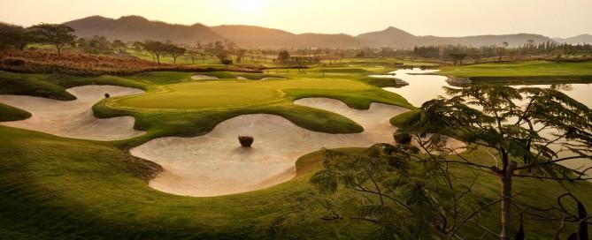 Best golf course in Thailand, Black Mountain Golf Club, Hua Hin