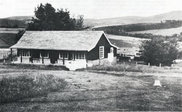 Dufftown Golf Club clubhouse circa 1930
