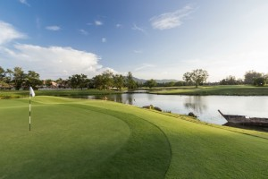 Enhanced water features is one of several eco-oriented design improvements made at Laguna Phuket Golf Club following the course revamp by designer, Paul Jansen.